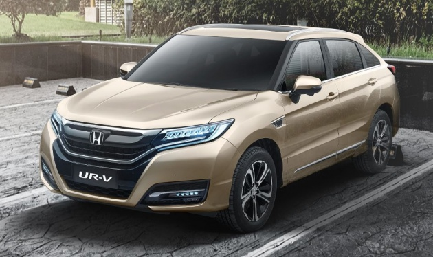 Honda UR-V launched in China - Dongfeng's Avancier