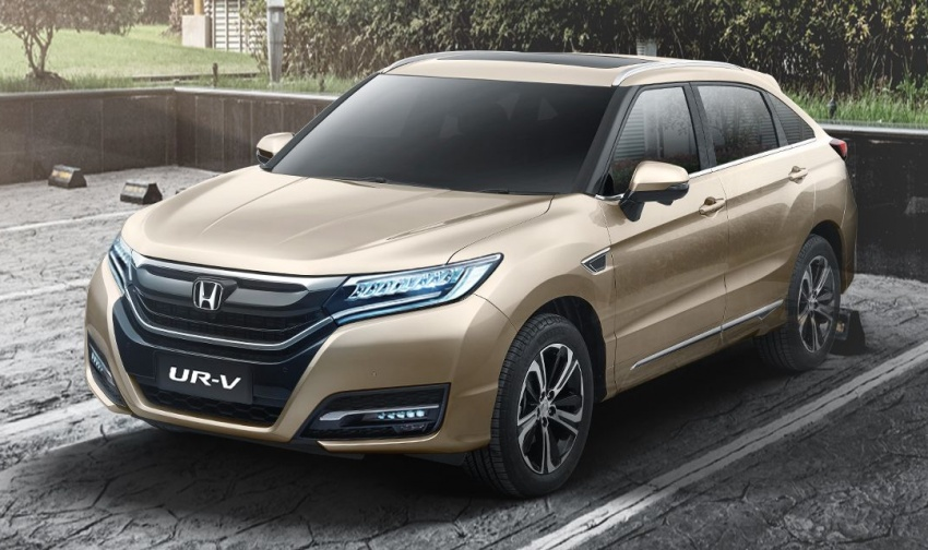 Honda UR-V launched in China – Dongfeng's Avancier Image #631579