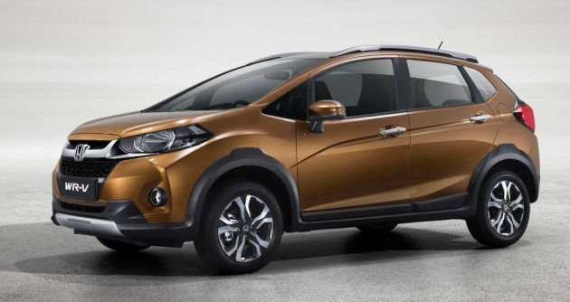 The Honda WR V Has Been Officially Launched In India While Jazz Based SUV Was First Seen Brazil Late Last Year Is Country To