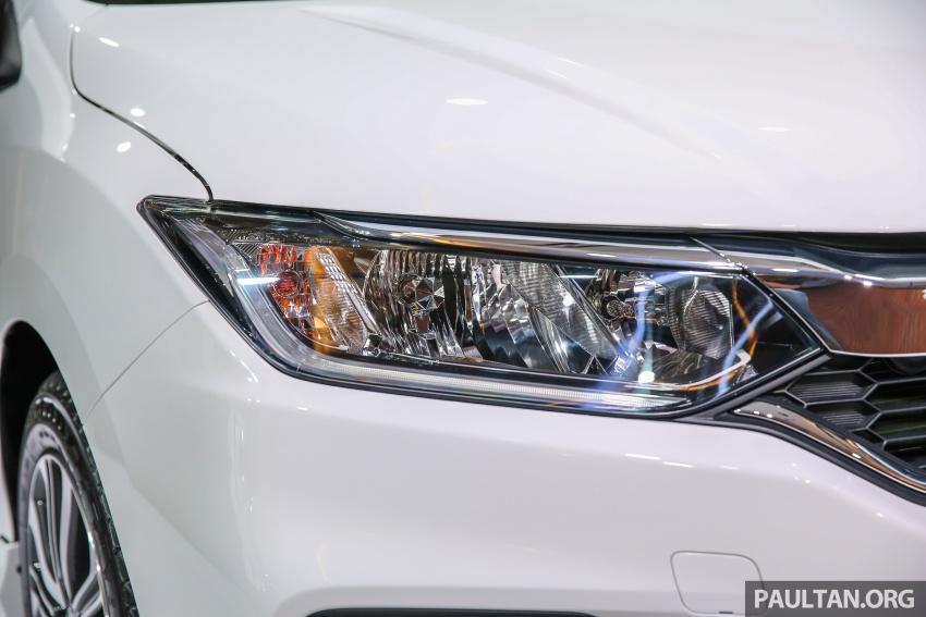 Honda City 2017 facelift dilancarkan untuk pasaran Malaysia – hanya 3 varian, harga kekal RM78k-RM92k Image #623186