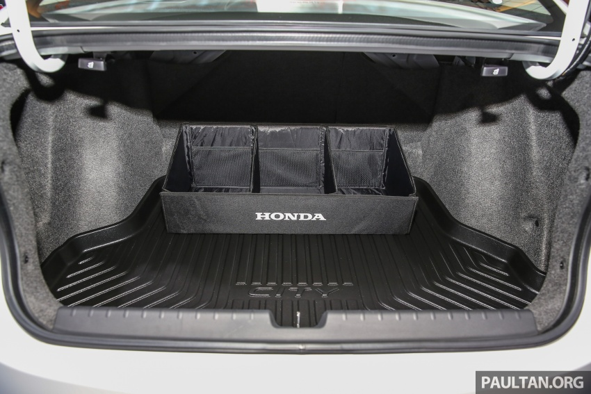 Honda City 2017 facelift dilancarkan untuk pasaran Malaysia – hanya 3 varian, harga kekal RM78k-RM92k Image #623172