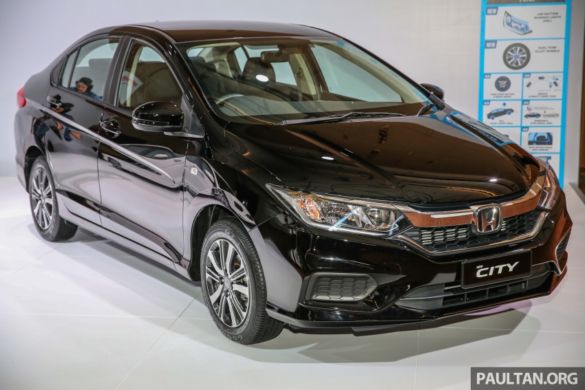 2017 Honda City facelift launched in Malaysia – new looks, added kit, priced from RM78,300 to RM92,000 Image #623217