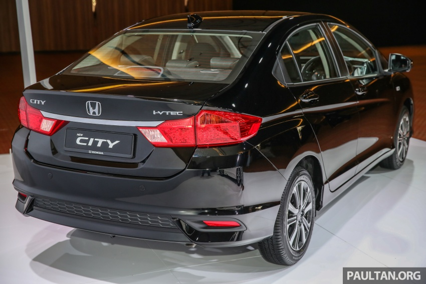 2017 Honda City facelift launched in Malaysia – new looks, added kit, priced from RM78,300 to RM92,000 Image #623218