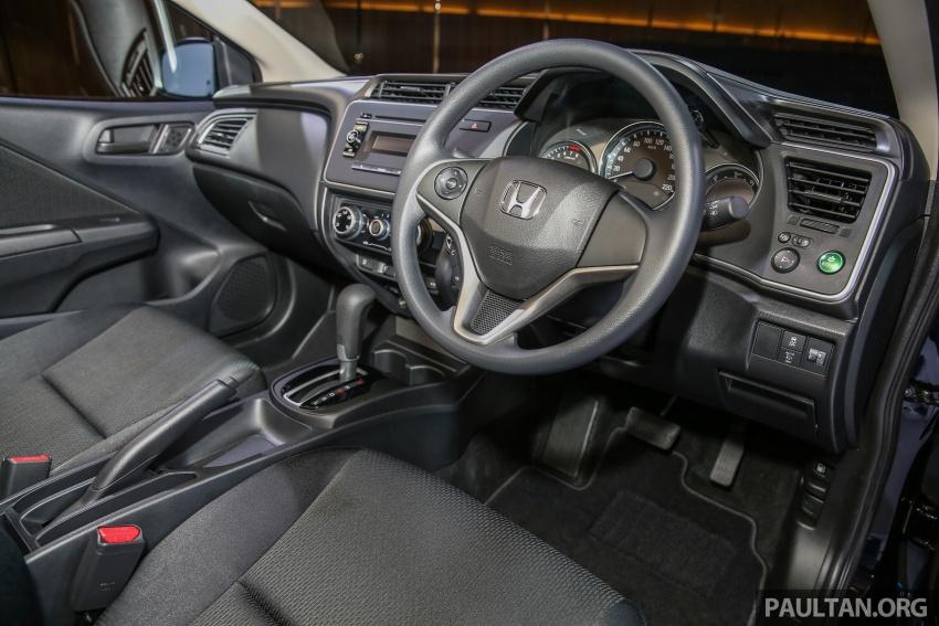 Honda City 2017 facelift dilancarkan untuk pasaran Malaysia – hanya 3 varian, harga kekal RM78k-RM92k Image #623259