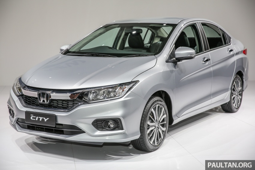 2017 Honda City facelift launched in Malaysia – new looks, added kit, priced from RM78,300 to RM92,000 Image #623040