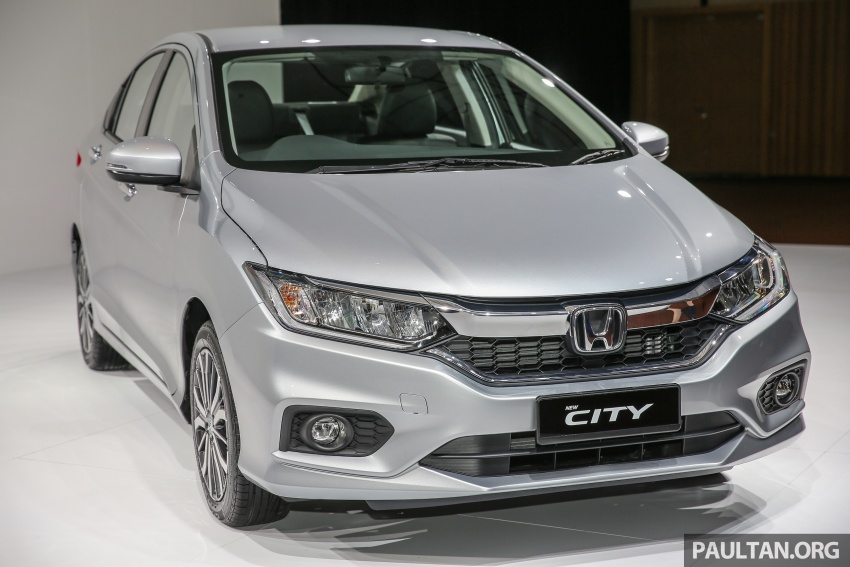 2017 Honda City facelift launched in Malaysia – new looks, added kit, priced from RM78,300 to RM92,000 Image #623041