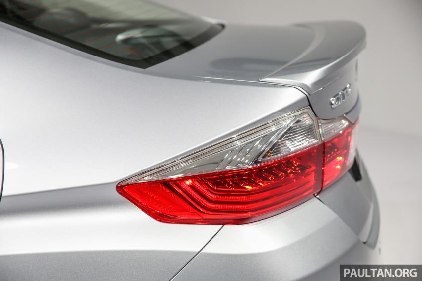 Honda City 2017 facelift dilancarkan untuk pasaran Malaysia – hanya 3 varian, harga kekal RM78k-RM92k Image #623106