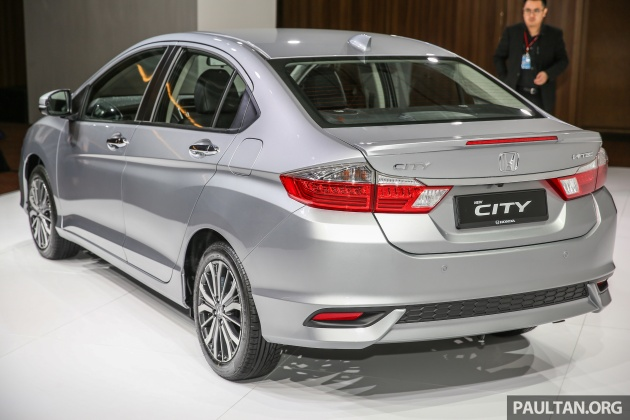 2017 Honda City Facelift Launched In Malaysia New Looks Added Kit Priced From Rm78 300 To