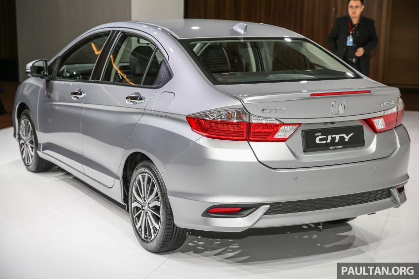 2017 Honda City facelift launched in Malaysia – new looks, added kit, priced from RM78,300 to RM92,000 Image #623042