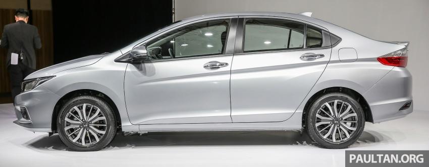 Honda City 2017 facelift dilancarkan untuk pasaran Malaysia – hanya 3 varian, harga kekal RM78k-RM92k Image #623097