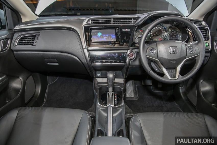 Honda City 2017 facelift dilancarkan untuk pasaran Malaysia – hanya 3 varian, harga kekal RM78k-RM92k Image #623114