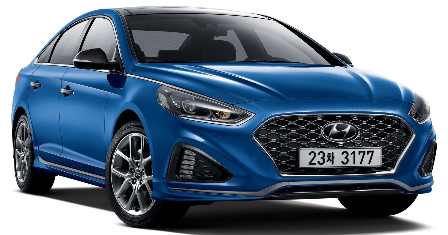 hyundai sonata facelift officially launched in korea. Black Bedroom Furniture Sets. Home Design Ideas