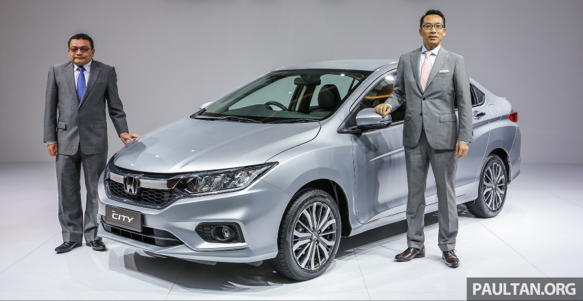 2017 Honda City facelift launched in Malaysia – new looks, added kit, priced from RM78,300 to RM92,000 Image #623374