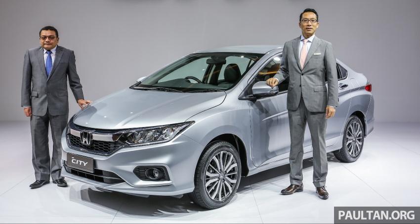 Honda City 2017 facelift dilancarkan untuk pasaran Malaysia – hanya 3 varian, harga kekal RM78k-RM92k Image #622785