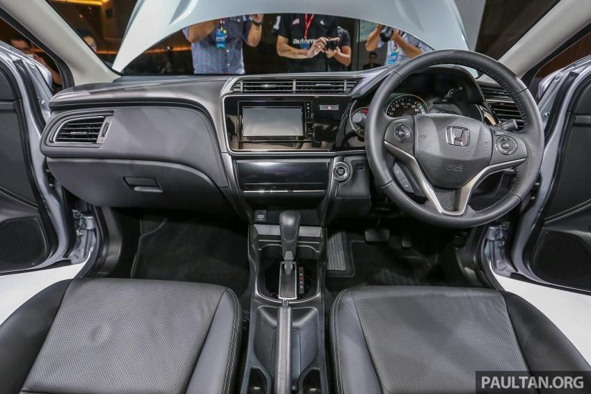 Honda City 2017 facelift dilancarkan untuk pasaran Malaysia – hanya 3 varian, harga kekal RM78k-RM92k Image #622788