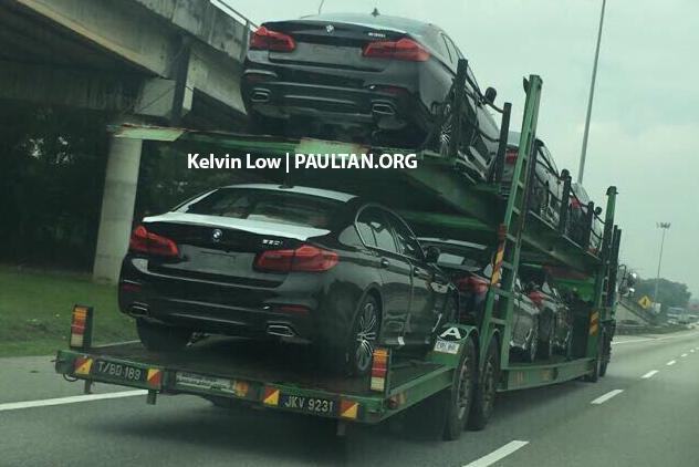 SPYSHOT: G30 BMW 5 Series dikesan di Malaysia! Image #623791
