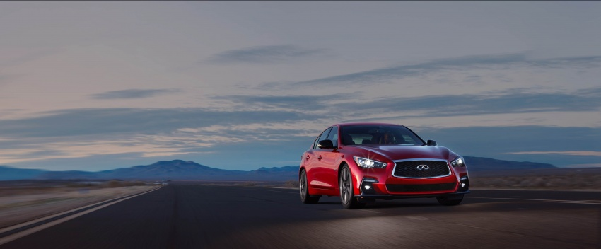 2018 Infiniti Q50 makes its debut at Geneva show Image #625946
