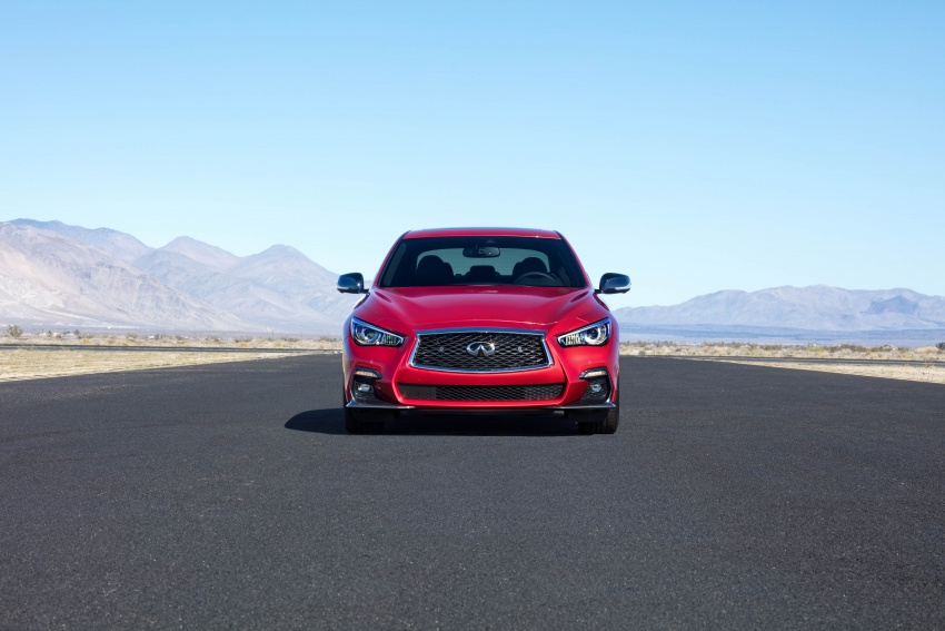 2018 Infiniti Q50 makes its debut at Geneva show Image #625966