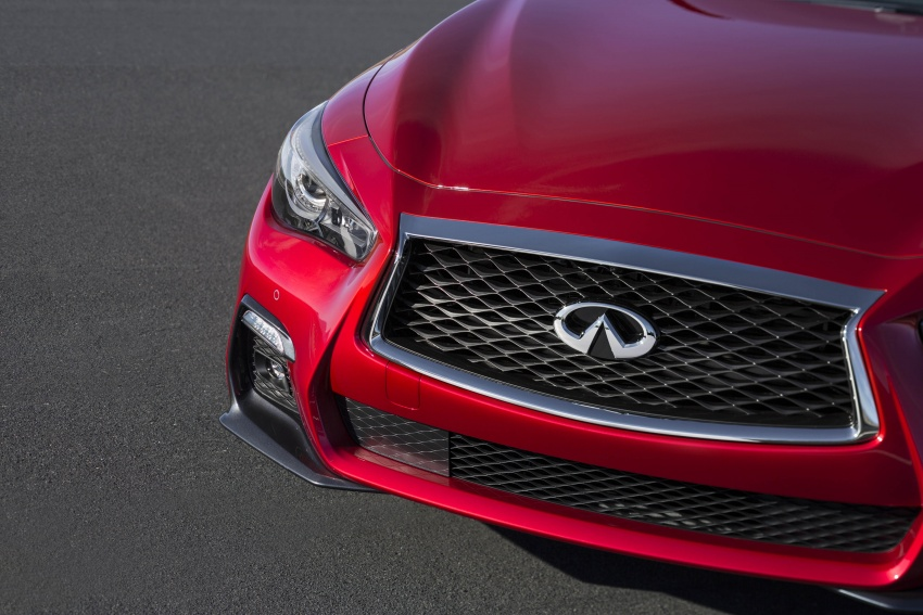 2018 Infiniti Q50 makes its debut at Geneva show Image #626002