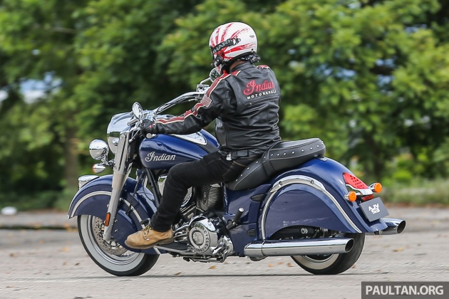 Priced At Rm158 00 Including Gst But Excluding Road Tax Insurance And Registration The 2017 Indian Chief Clic Goes Up Against Harley Davidson