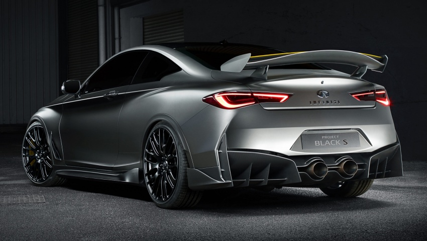 Infiniti Q60 Project Black S shown: F1-inspired, 500 hp Image #624308