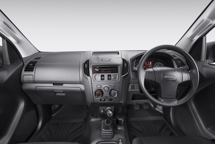 Isuzu D-Max 3.0L Single Cab launched in Malaysia – 177 PS and 380 Nm pick-up truck priced from RM88k Image #623422