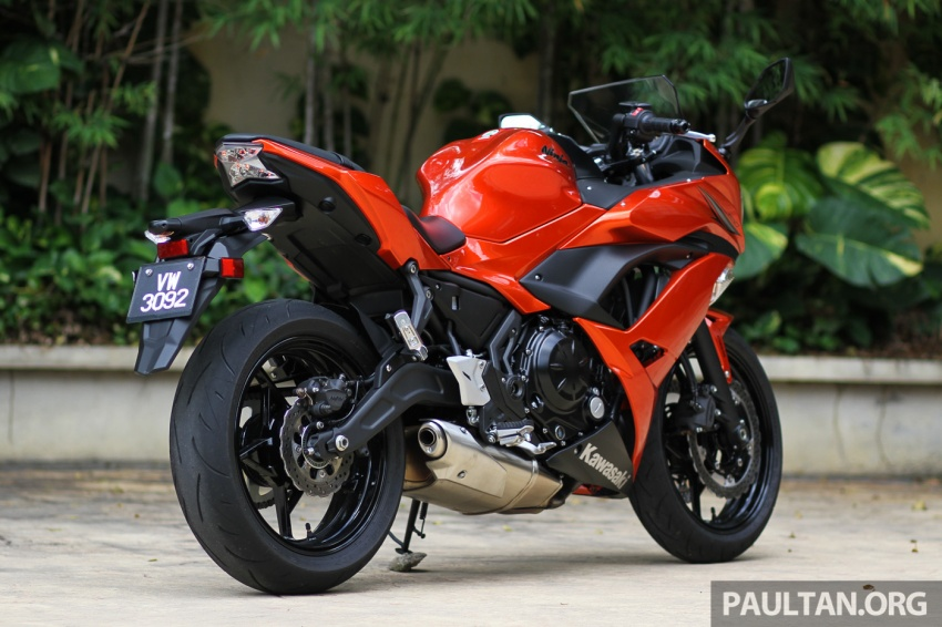 Kawasaki Ninja Red Colour