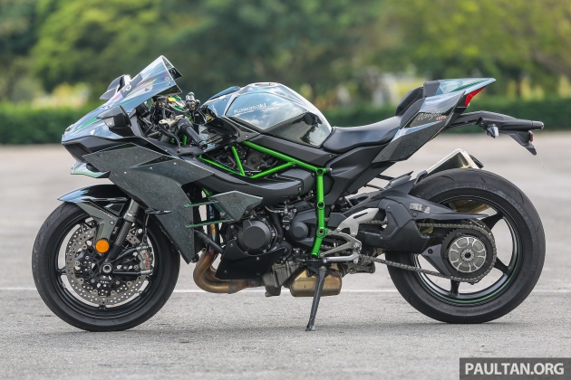Review Kawasaki Ninja H2 Power To The People