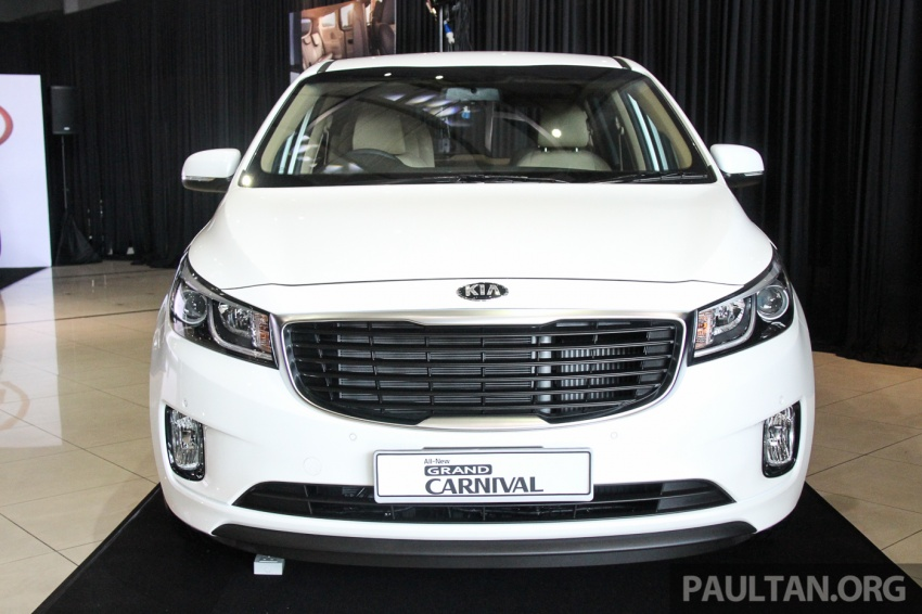 Kia Grand Carnival launched in Malaysia – 2.2 CRDI, three variants, priced from RM154k to RM186k Image #633254