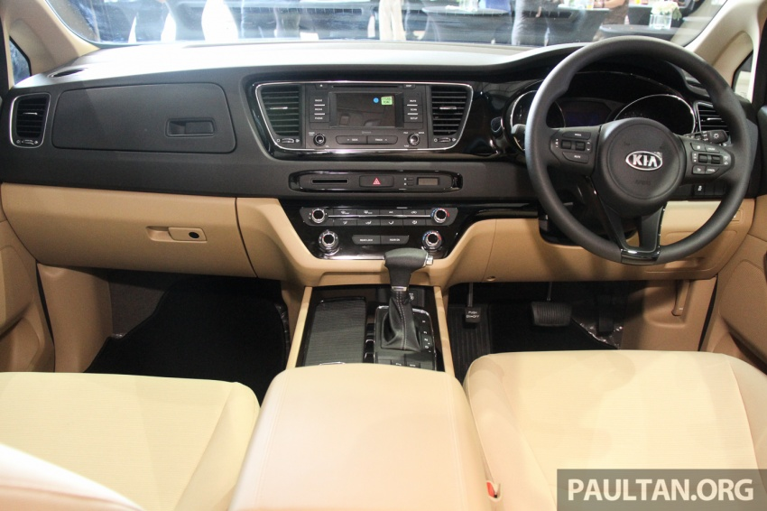Kia Grand Carnival launched in Malaysia – 2.2 CRDI, three variants, priced from RM154k to RM186k Image #633266