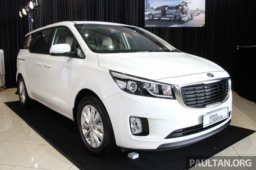 Kia Grand Carnival launched in Malaysia – 2.2 CRDI, three variants, priced from RM154k to RM186k Image #633255
