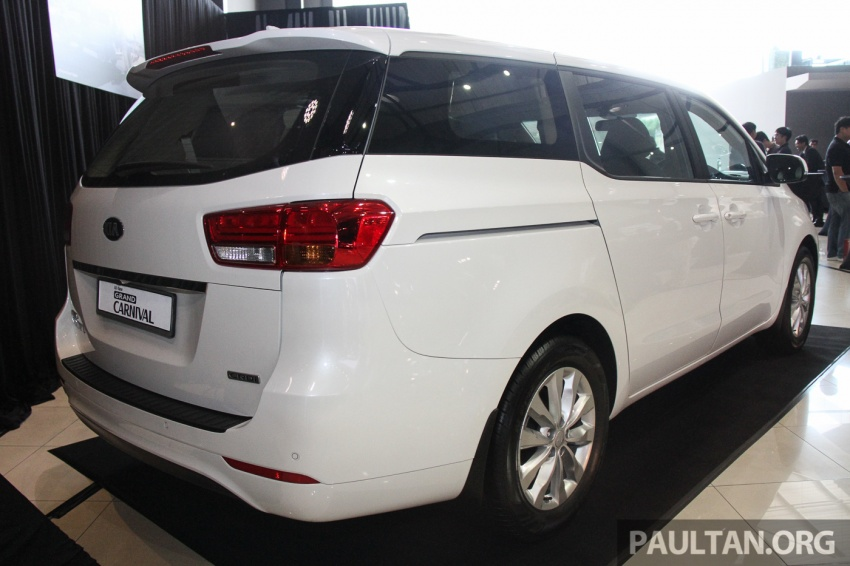 Kia Grand Carnival launched in Malaysia – 2.2 CRDI, three variants, priced from RM154k to RM186k Image #633275
