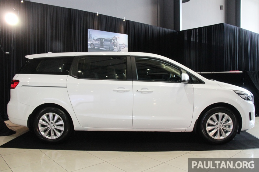 Kia Grand Carnival launched in Malaysia – 2.2 CRDI, three variants, priced from RM154k to RM186k Image #633256