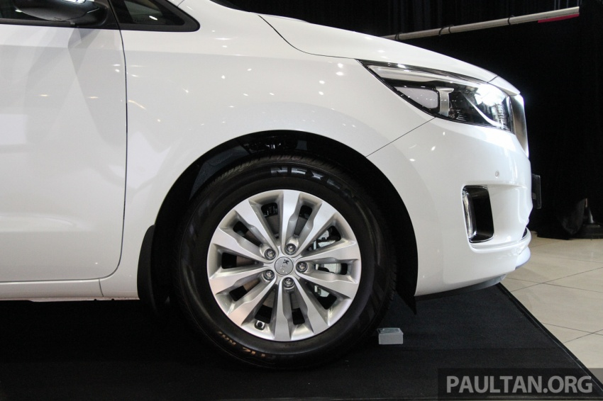 Kia Grand Carnival launched in Malaysia – 2.2 CRDI, three variants, priced from RM154k to RM186k Image #633257