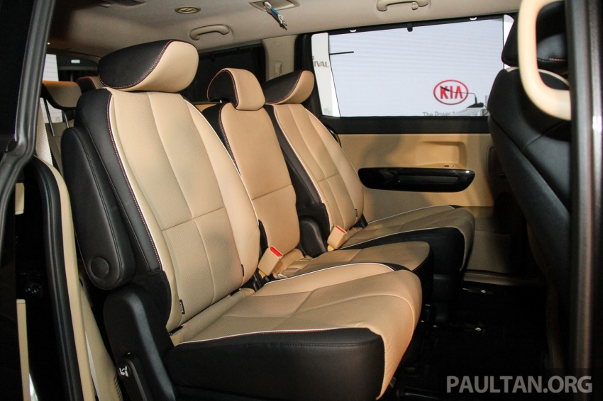 Kia Grand Carnival launched in Malaysia – 2.2 CRDI, three variants, priced from RM154k to RM186k Image #633173
