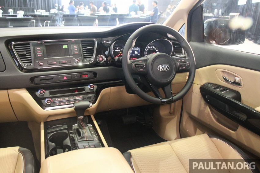 Kia Grand Carnival launched in Malaysia – 2.2 CRDI, three variants, priced from RM154k to RM186k Image #633177