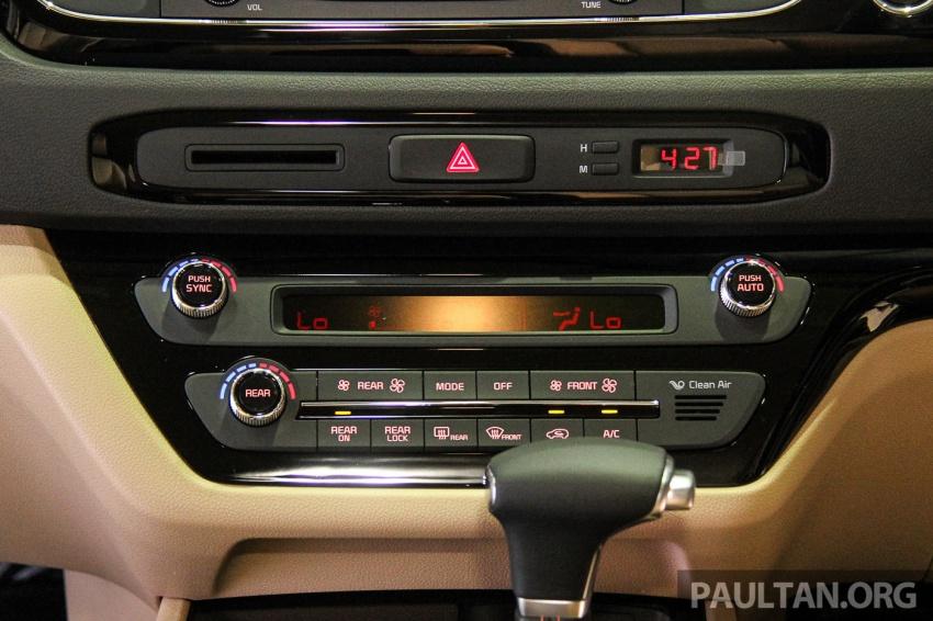 Kia Grand Carnival dilancarkan di Malaysia – tiga varian, 2.2L turbodiesel, harga dari RM154k Image #633396