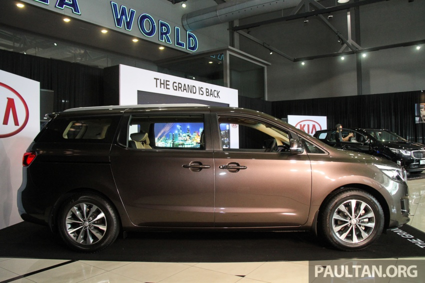Kia Grand Carnival launched in Malaysia – 2.2 CRDI, three variants, priced from RM154k to RM186k Image #633195