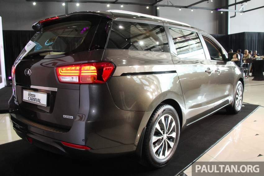 Kia Grand Carnival launched in Malaysia – 2.2 CRDI, three variants, priced from RM154k to RM186k Image #633196