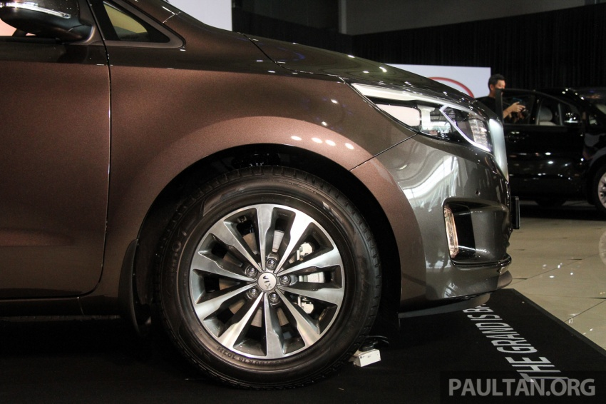 Kia Grand Carnival launched in Malaysia – 2.2 CRDI, three variants, priced from RM154k to RM186k Image #633197