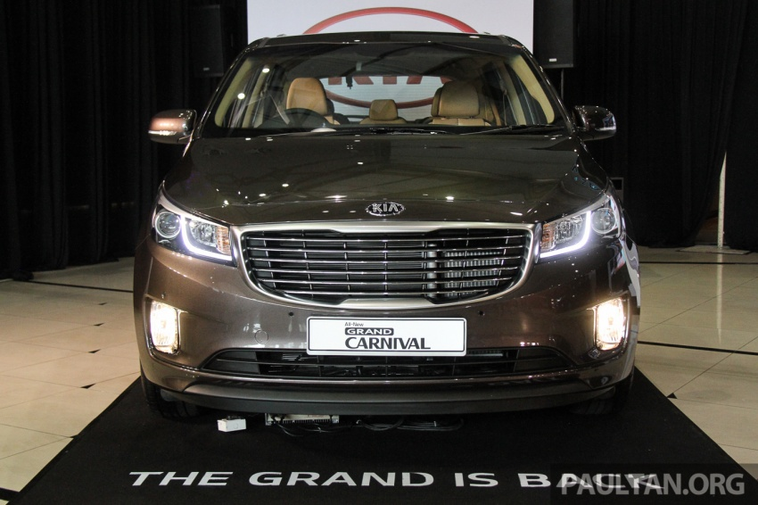 Kia Grand Carnival launched in Malaysia – 2.2 CRDI, three variants, priced from RM154k to RM186k Image #633198