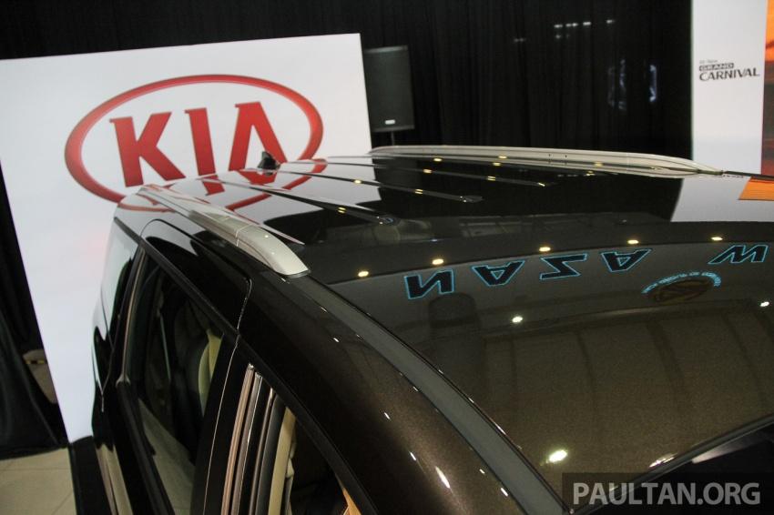 Kia Grand Carnival dilancarkan di Malaysia – tiga varian, 2.2L turbodiesel, harga dari RM154k Image #633407
