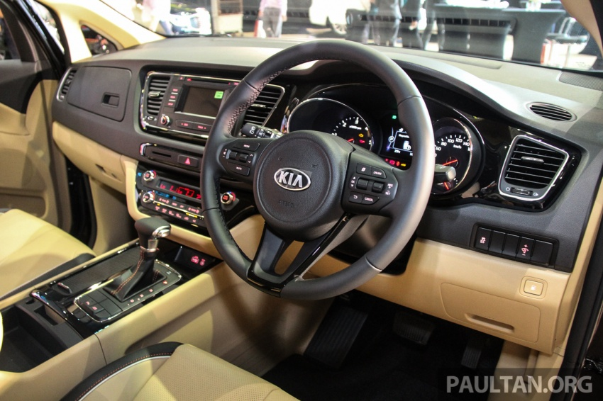 Kia Grand Carnival launched in Malaysia – 2.2 CRDI, three variants, priced from RM154k to RM186k Image #633184