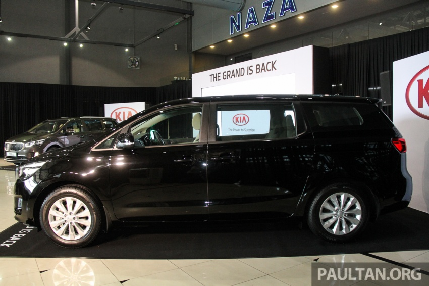 Kia Grand Carnival launched in Malaysia – 2.2 CRDI, three variants, priced from RM154k to RM186k Image #633203