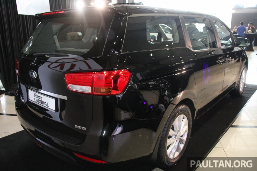Kia Grand Carnival launched in Malaysia – 2.2 CRDI, three variants, priced from RM154k to RM186k Image #633221