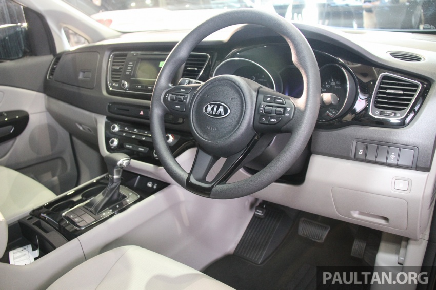 Kia Grand Carnival launched in Malaysia – 2.2 CRDI, three variants, priced from RM154k to RM186k Image #633207