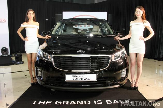 Kia Grand Carnival Launched In Malaysia 2 2 Crdi Three Variants