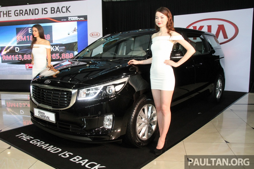 Kia Grand Carnival launched in Malaysia – 2.2 CRDI, three variants, priced from RM154k to RM186k Image #633224