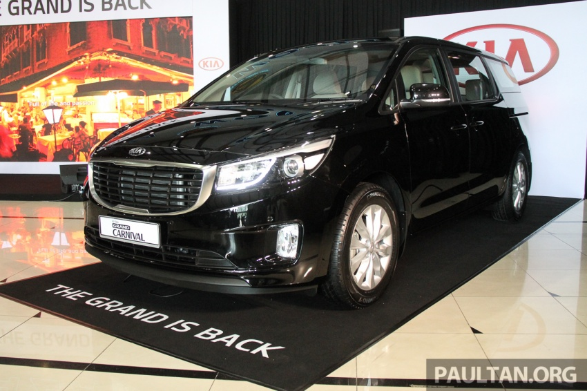 Kia Grand Carnival launched in Malaysia – 2.2 CRDI, three variants, priced from RM154k to RM186k Image #633243