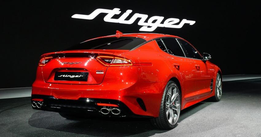 Kia Stinger official 0-100 km/h time revealed – 4.9 sec Image #637447